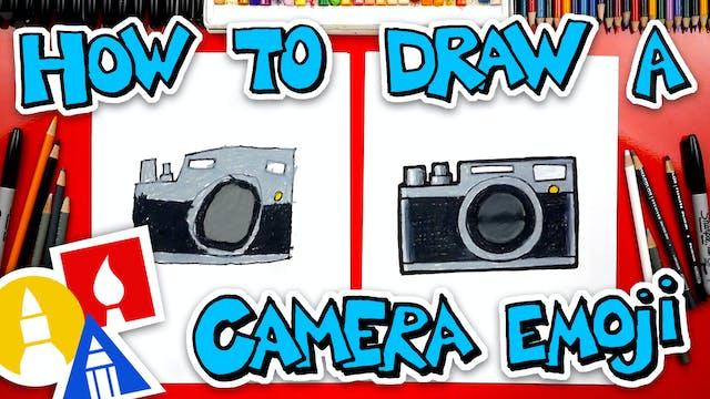 How To Draw A Camera Emoji