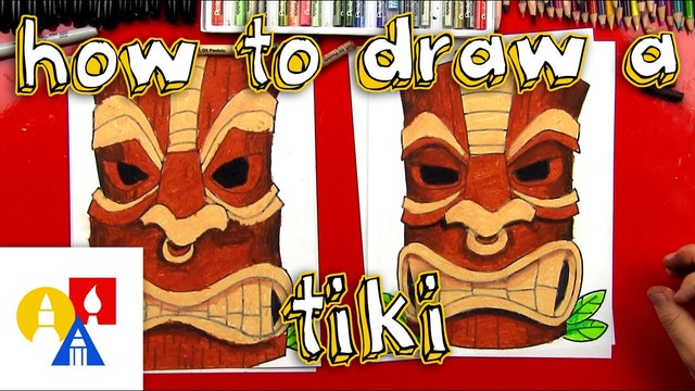 How To Draw A Tiki