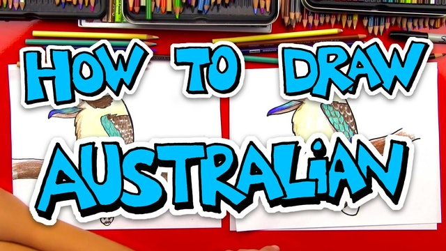 How To Draw Australian Animals