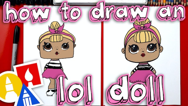 How To Draw An LOL Doll
