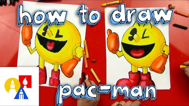 How To Draw Pacman