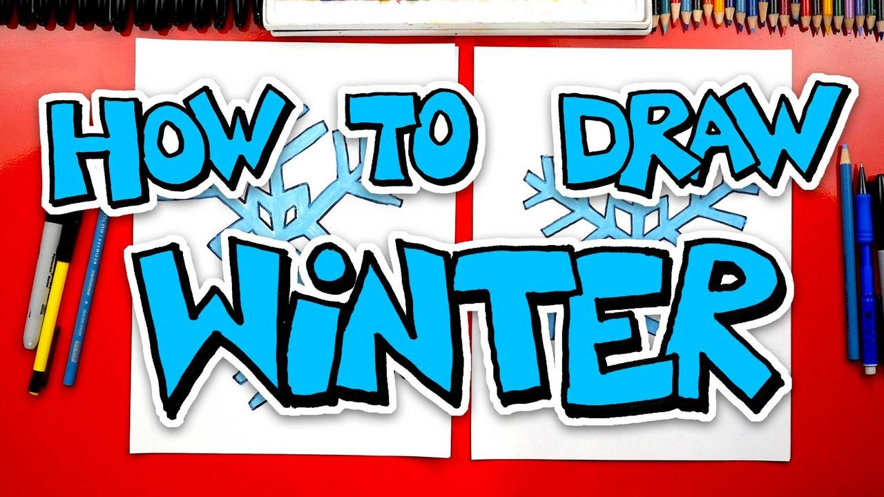 How To Draw Winter