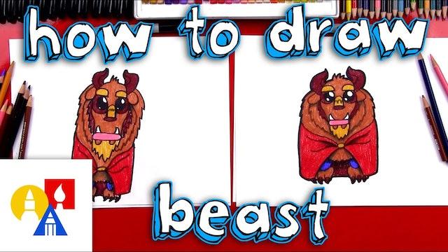 How To Draw Cartoon Beast