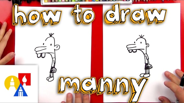 How To Draw Manny Heffley