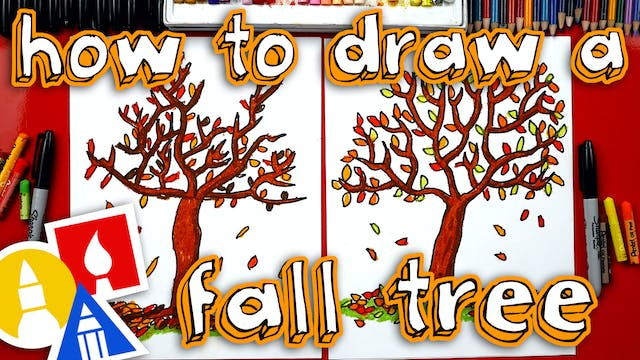 How To Draw A Fall Tree