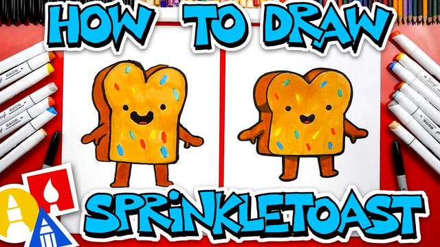 How To Draw Sprinkle Toast From YouTu...