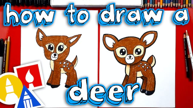 How To Draw A Baby Deer