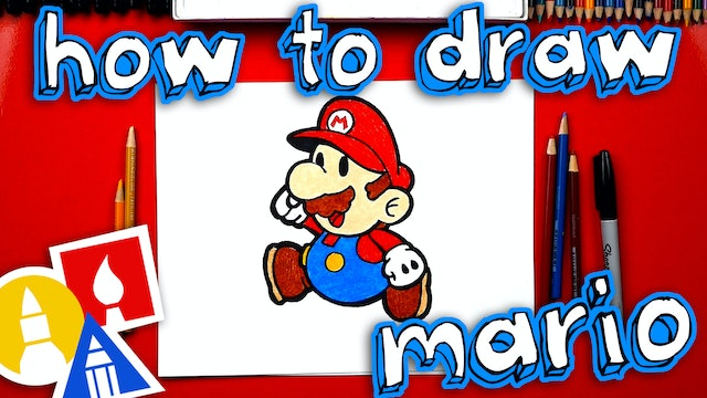 How To Draw Paper Mario