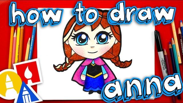 How To Draw Cute Anna