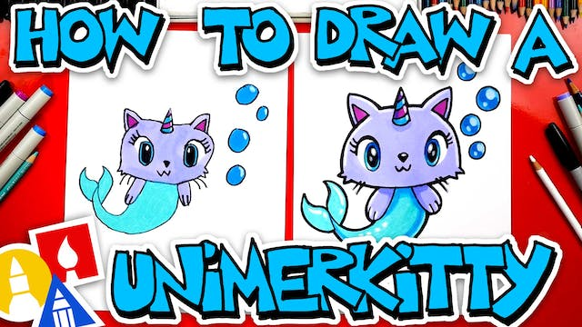 How To Draw A Unimerkitty