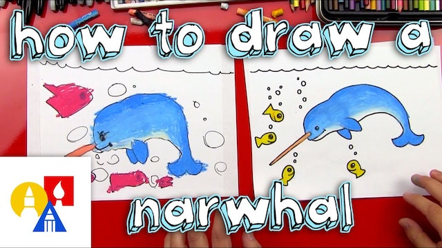 How To Draw A Narwhal
