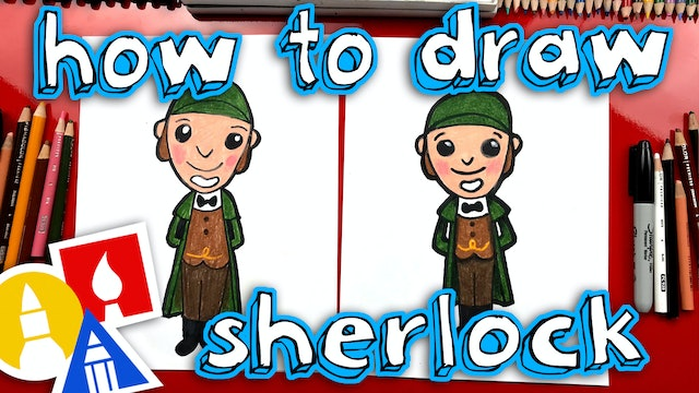 How To Draw Sherlock From Sherlock Gnomes