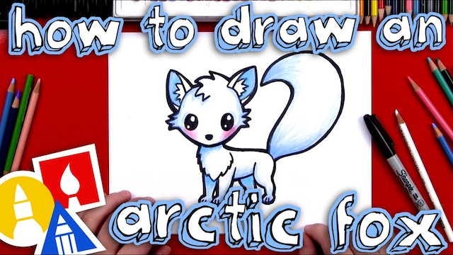 How To Draw An Arctic Fox