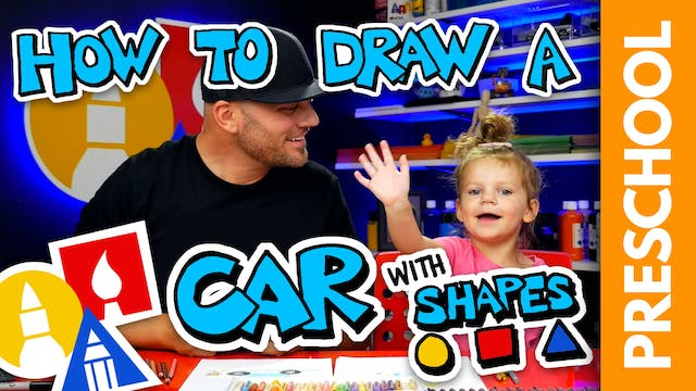 Drawing A Shape Car With Olivia Recta...