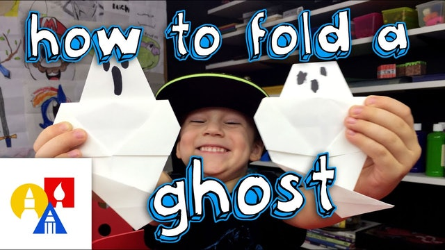 How To Fold An Origami Ghost
