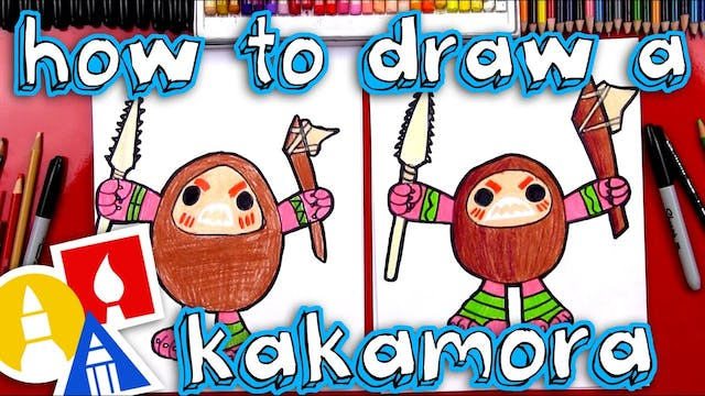How To Draw A Kakamora