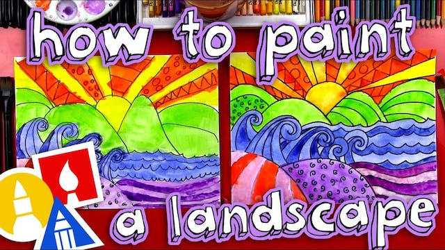 How To Paint A Beautiful Landscape - ...