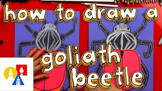 How To Make A Goliath Beetle Cutout