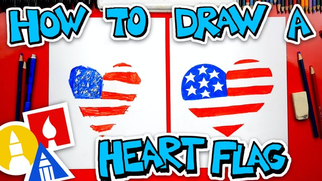 How To Draw A Heart Flg