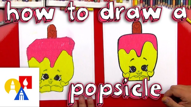 How To Draw A Popsicle Shopkin