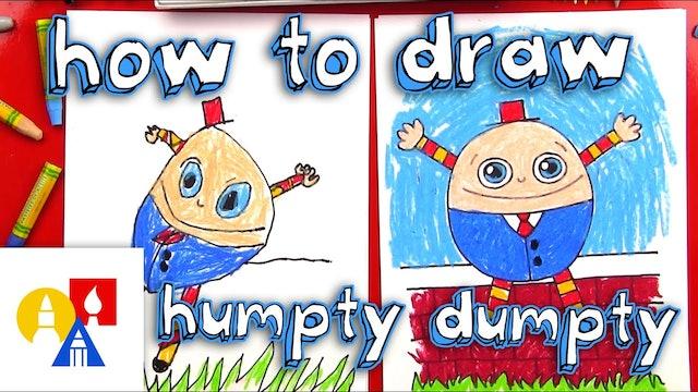 How To Draw Humpty Dumpty