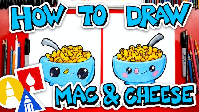 How To Draw Macaroni And Cheese