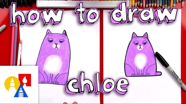 How To Draw Chloe From The Secret Life Of Pets