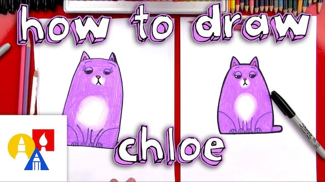 How To Draw Chloe From The Secret Lif...