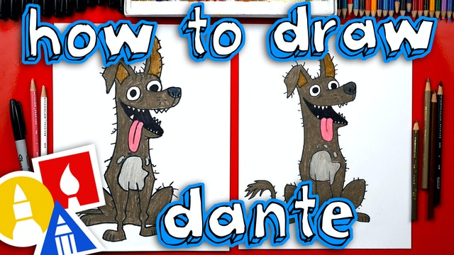 How To Draw Dante From Coco