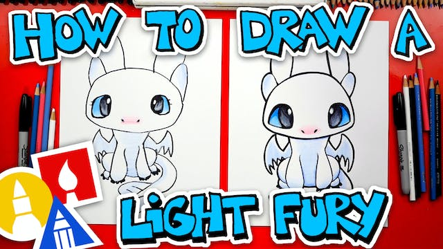 How To Draw A Light Fury