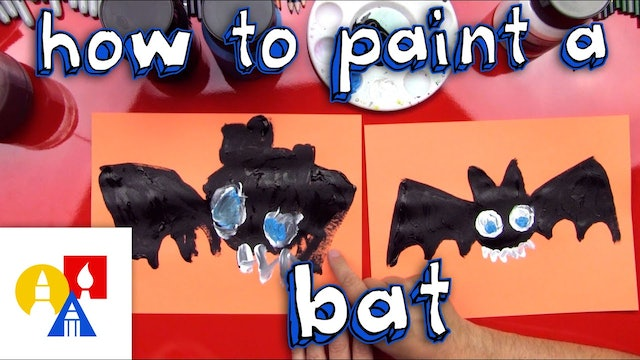 How To Paint A Bat
