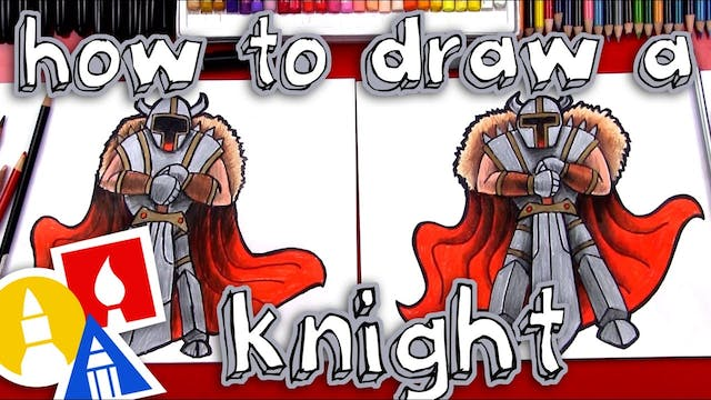 How To Draw A Knight