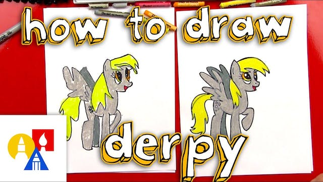 How To Draw Derpy Hooves From My Litt...