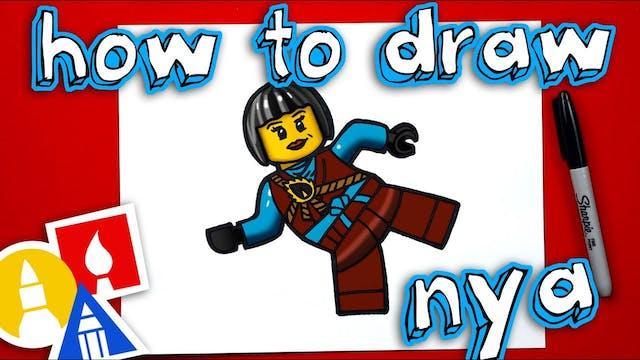 How To Draw Nya From Ninjago - member