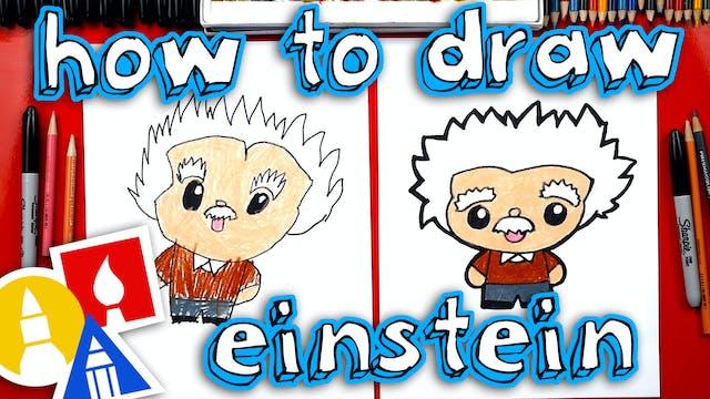 How To Draw Einstein