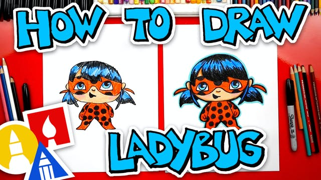 How To Draw Ladybug From Miraculous L...