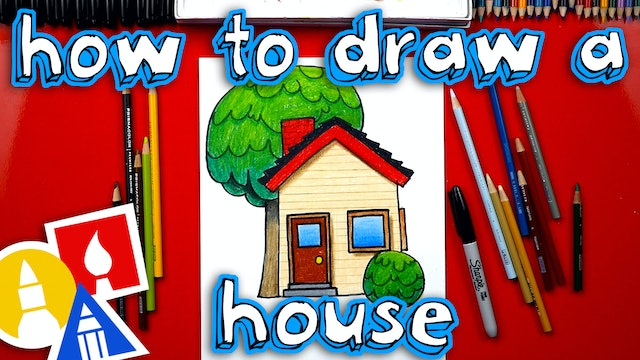 How To Draw A House Emoji