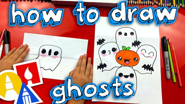 How To Draw A Ghost Stack Folding Surprise