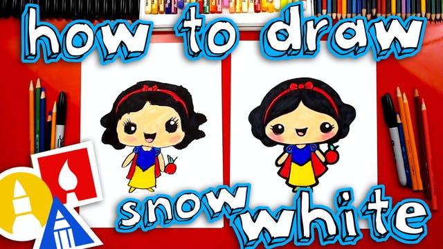 How To Draw Snow White Kawaii