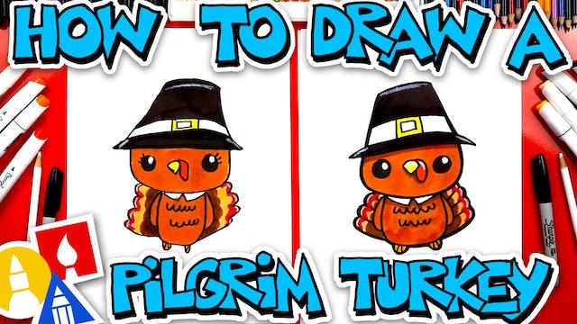 How To Draw A Pilgrim Turkey