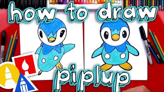 How To Draw Piplup Pokemon
