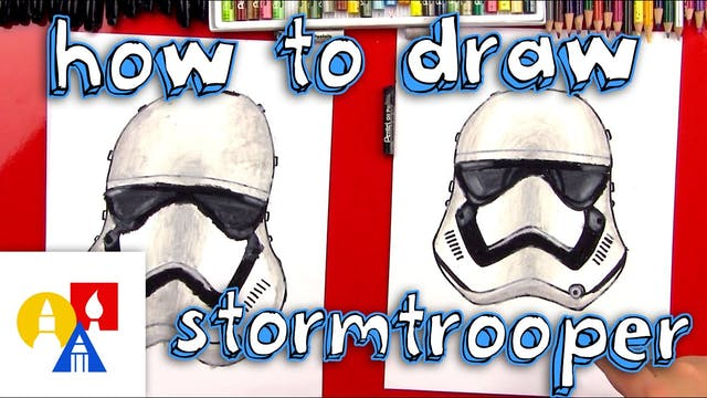 How To Draw A First Order Stormtroope...
