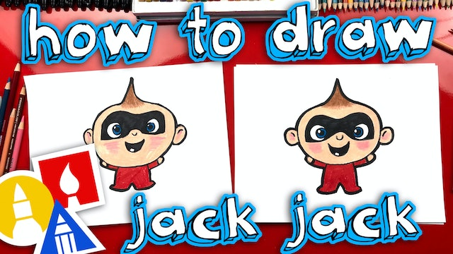 How To Draw Jack Jack From Incredibles 2