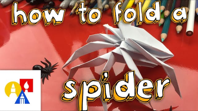 How To Fold The Coolest Origami Spide...