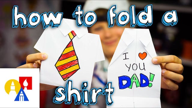 How To Fold An Origami Shirt - Father...