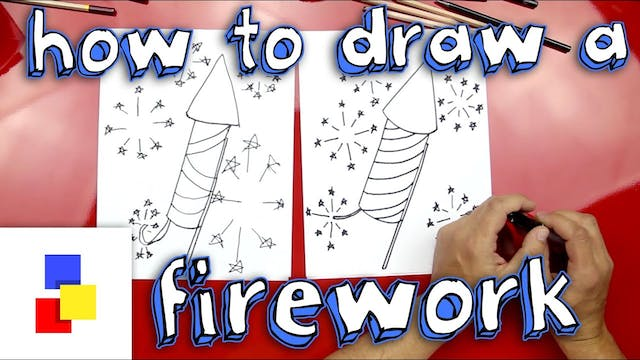 How To Draw A Firework