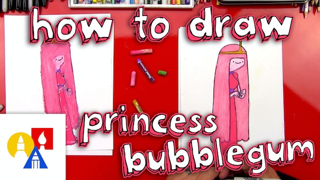 How To Draw Princess Bubblegum From Adventure Time