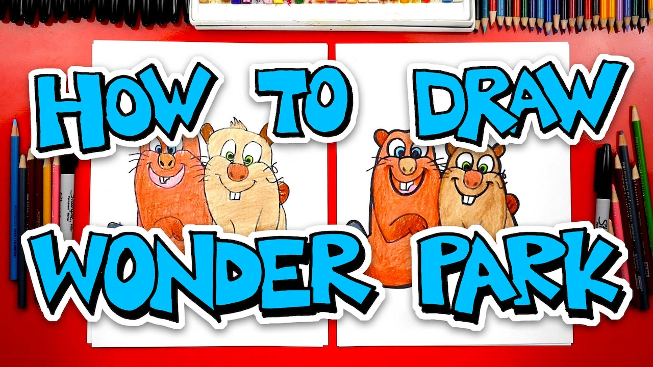 How To Draw Characters From Wonder Park