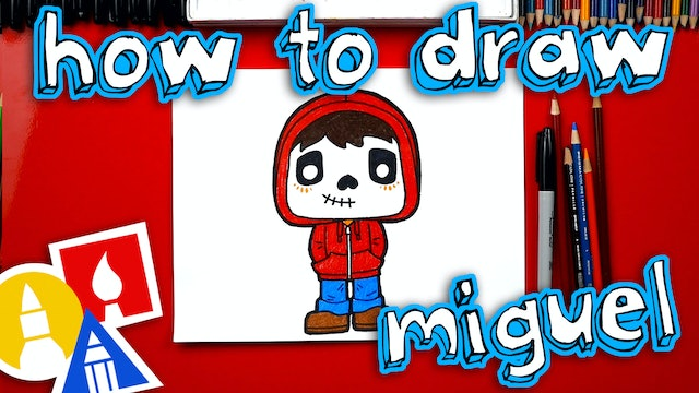How To Draw Cartoon Miguel From Coco