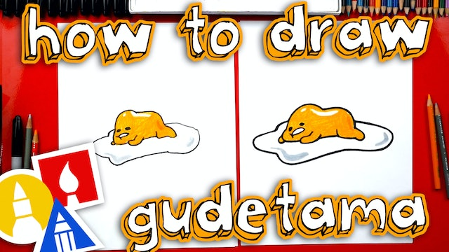 How To Draw Lazy Eggs Gudetama - member
